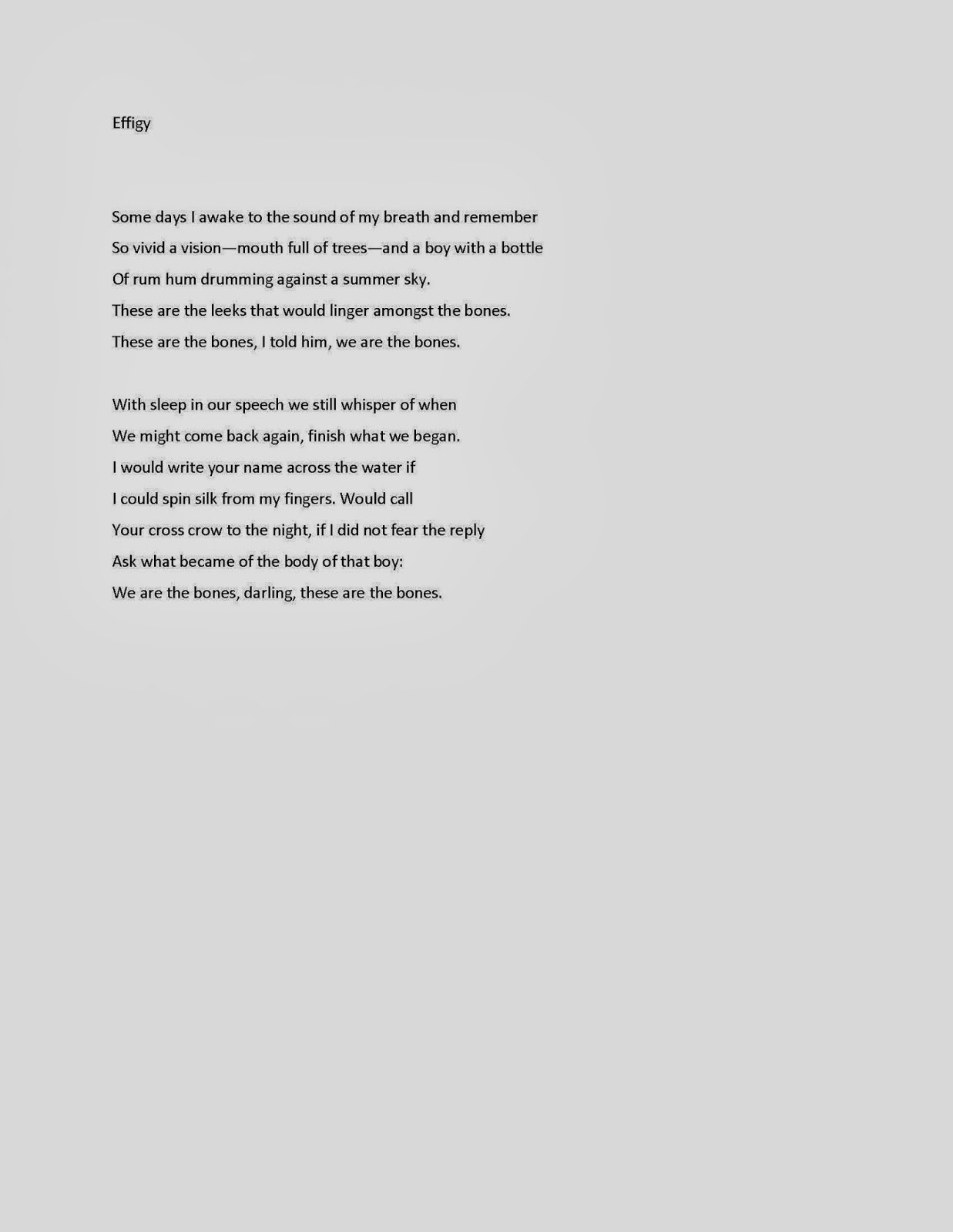 My Writing Process - Poem by Roshni D'Souza